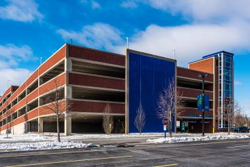 Aurora University Parking Garage