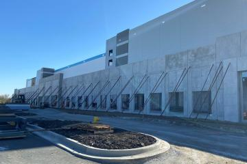 precast concrete fulfillment center in Markham, Illinois