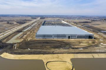 Medline precast concrete facility in Grayslake, Illinois