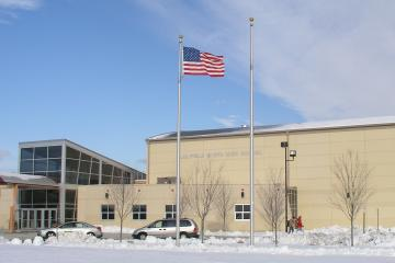 Plainfield North High School flag