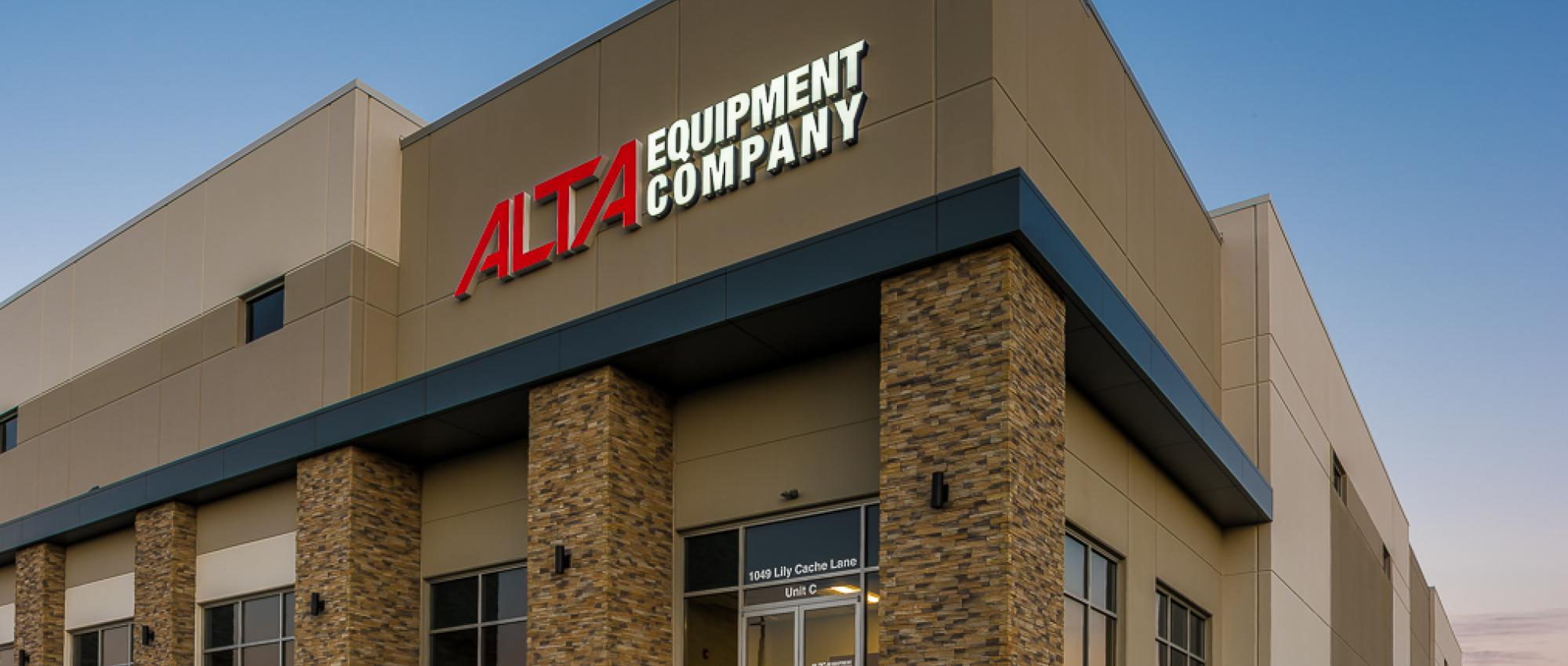 Alta Equipment Company building front