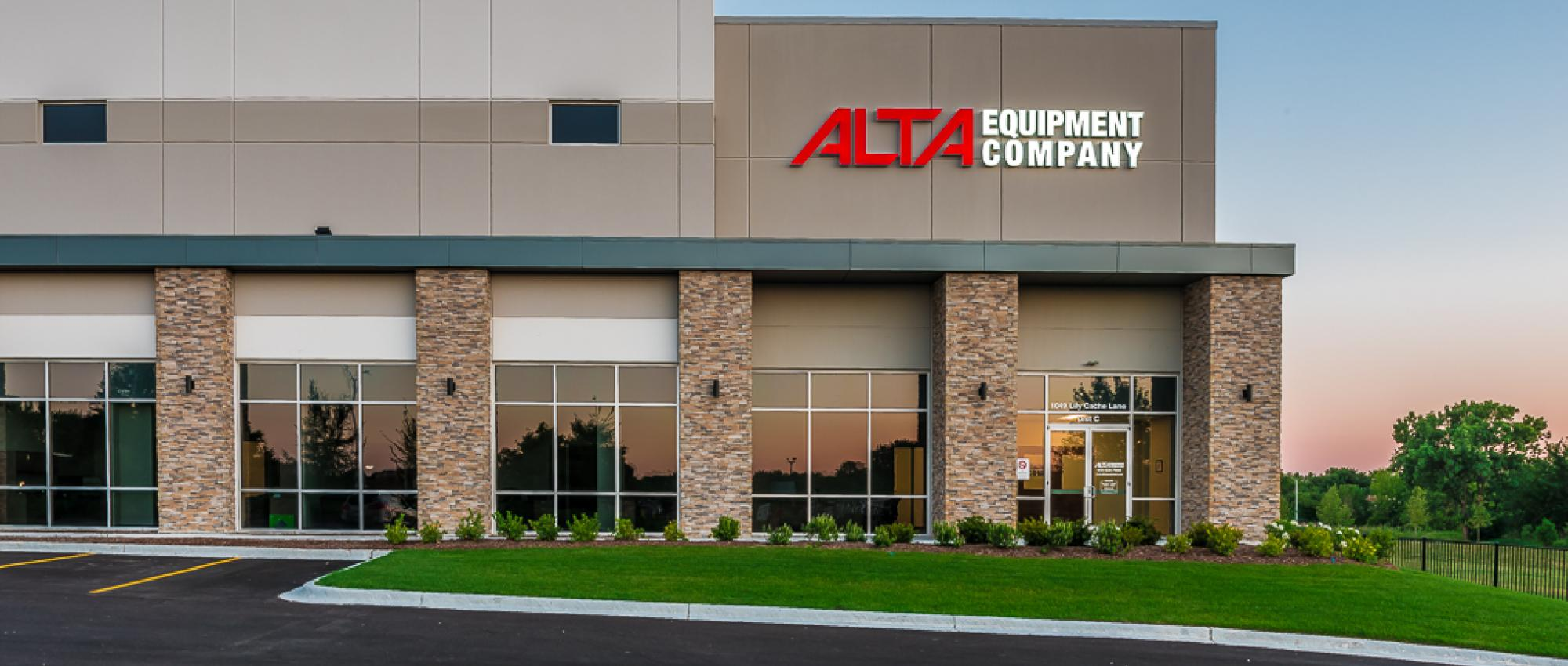 Alta Equipment Company building and office