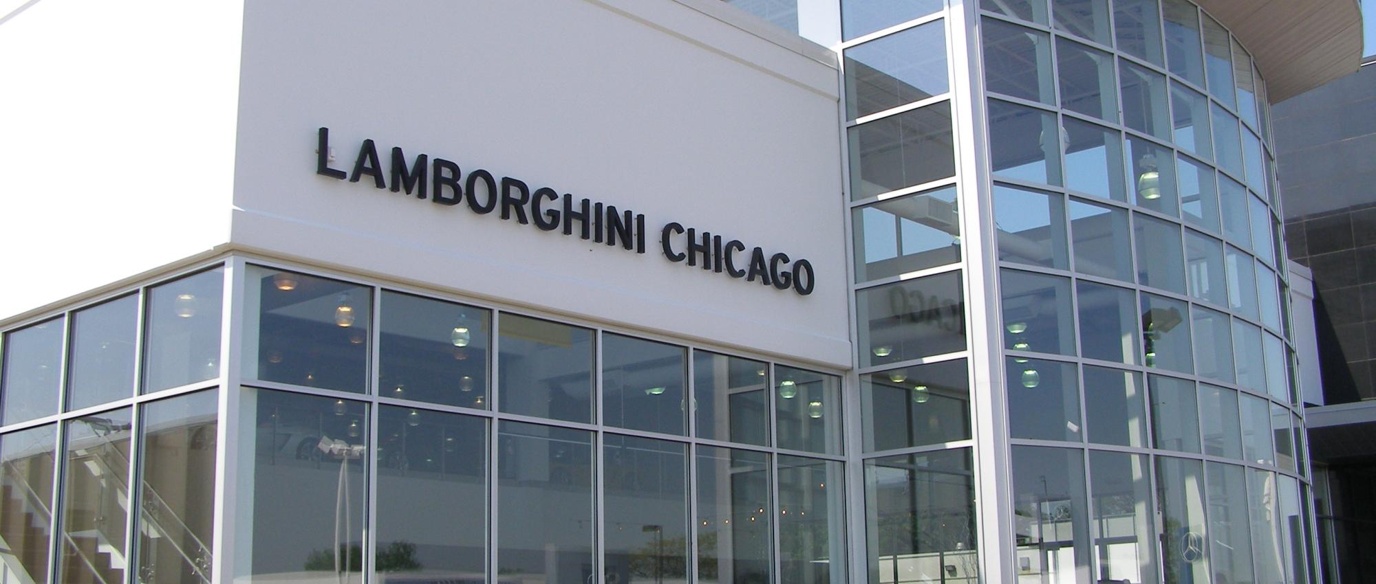 Lamborghini dealership