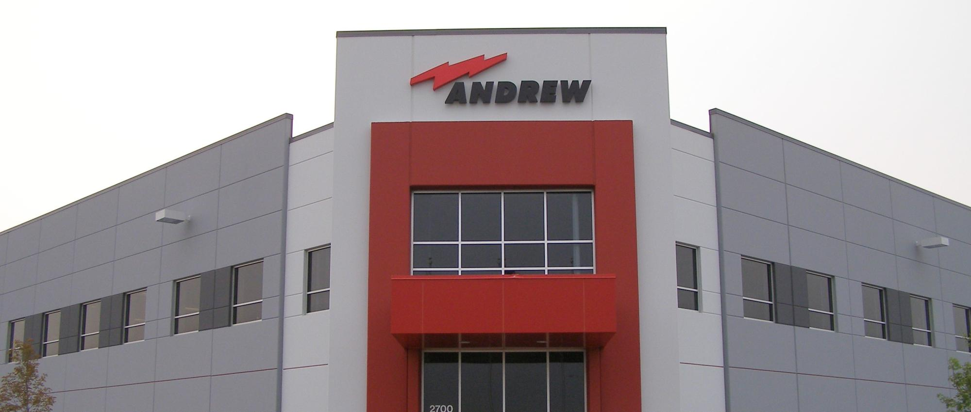 Andrew Corporation entry